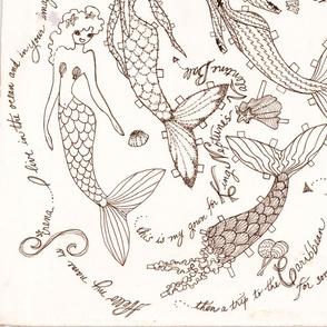 Valentine Mermaid
