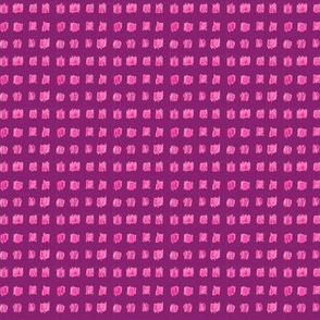 Ikat Tone - violet and pink