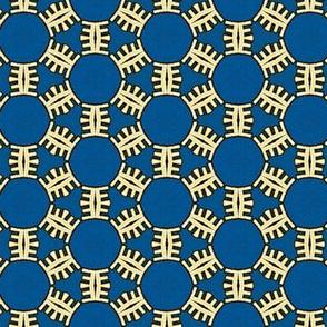 Honeycomb Snowflakes