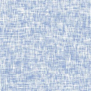 Periwinkle (serenity) + white linen-weave by Su_G_©SuSchaefer