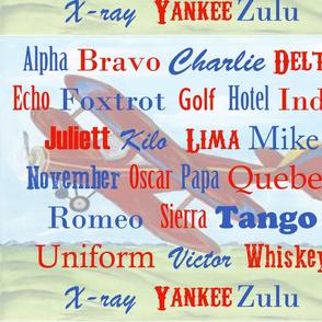 pilot alphabet