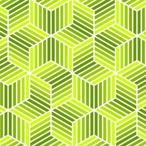 04958028 : chevron 6 bars : verdant greens