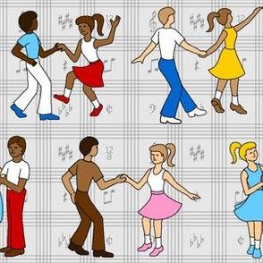 04958774 © rock'n'roll jump'n'jive lindyhop jitterbug swing dance party
