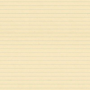 Vintage Lined Note Paper