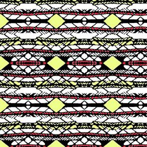 Horizontal Tribal Stripe