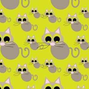 15-01G Big eyed Barn Cats_Miss Chiff Designs