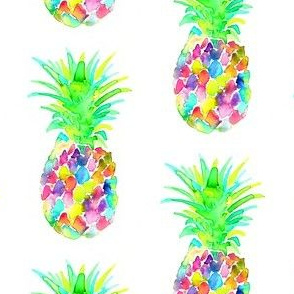 pineapple colorful