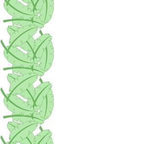 Banana Leaf Border