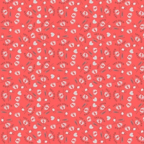 NICU Nurse Salmon Pink