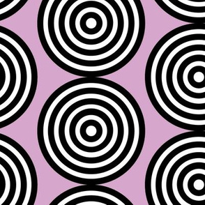 Lavender Lilac Purple Periwinkle Target Spots Dots_Miss Chiff Designs