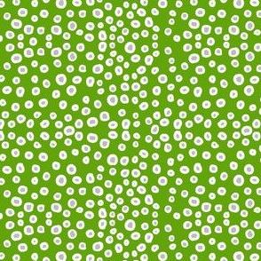 Dream Hare - dotty green