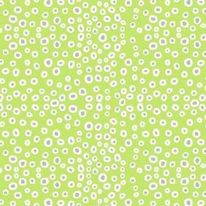 Dream Hare - dotty light green