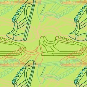 Dream Hare - sneaker line bright