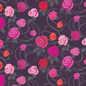 Vector Roses design