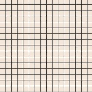 heavyweight grid in Pale Rose Quartz