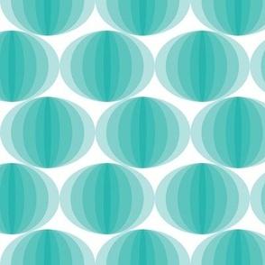 Aqua Ovals