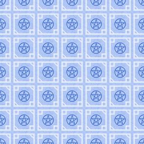 Pentagram light Blue