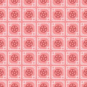 Pentagram Red
