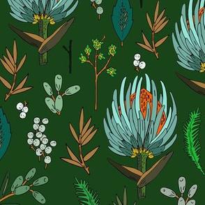 floral_study_mint_grunge