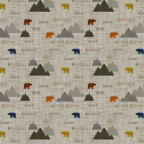 Wilderness Scene Bears