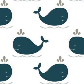 Whales Big Navy