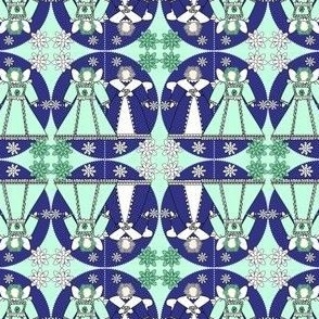 Fairies and  Flowers Fabric #3