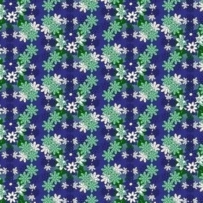 Fairies Hydrangea Flowers Fabric #5