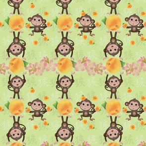 monkeyshines plaid