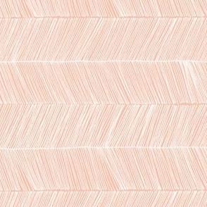 herringbone peach - rotated 90 degrees