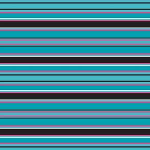 Shitzu Aqua Stripe