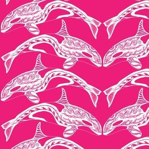 Orca Pink n White