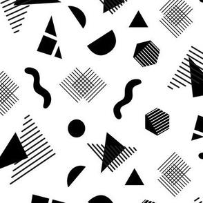 Lauper Fizz - Black on White
