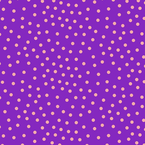 happy dots purple