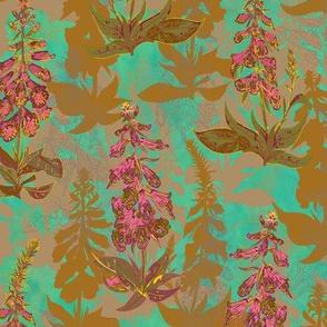 Foxgloves Floral