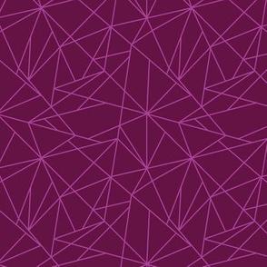 Geo Lines - Purple