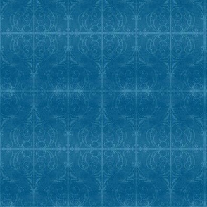 Gothic Fence in Blue