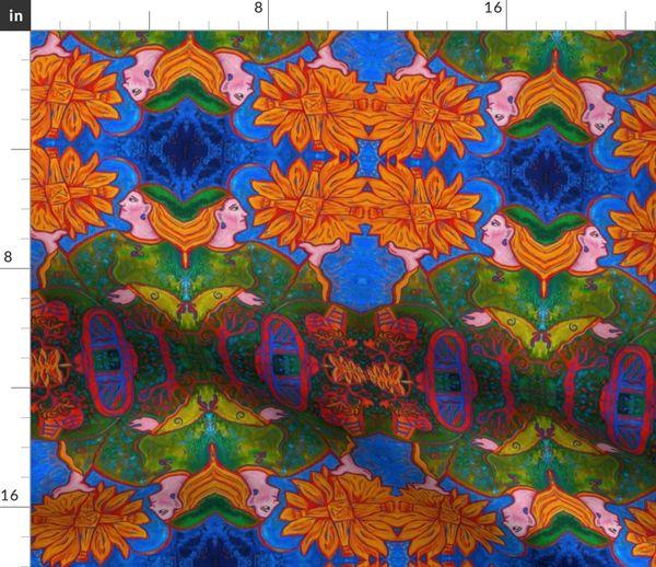 Goddess Brigid Spoonflower