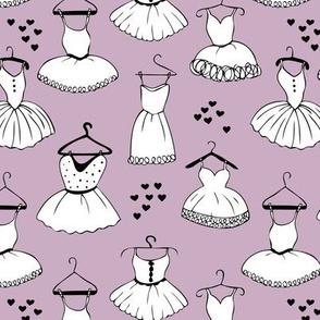 Little ballerina dance leotard dress for ballet lovers and prom girls soft pastel violet