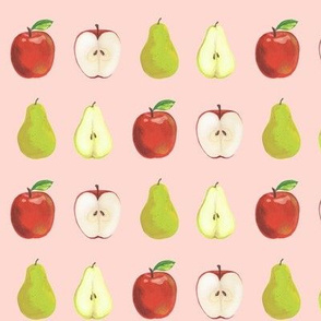 Tutti Fruity Apples and Pears