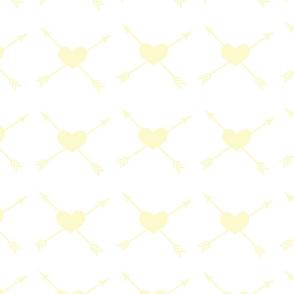 Yellow_Heart_White_Background_Arrow