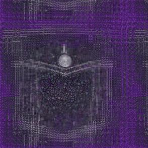 Vibrating Bubbly Violet Denim