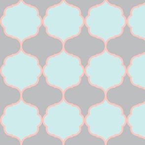 Hexafoil BlueMint Coral Gray