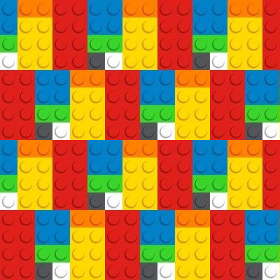- Blonde Bricks by fabric/_rocks Construction  Wall Retro Boy Decor  Cloth Napkins by Spoonflower Set of 2 Faux Brick Dinner Napkins