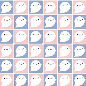 Kawaii Little Ghosts (Rose Quartz & Serenity)