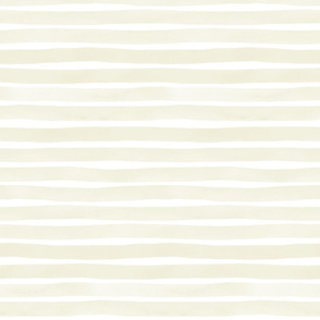 M+M  Tan Watercolor Stripes by Friztin