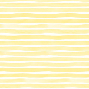 Watercolor Stripes M+M Sunshine by Friztin