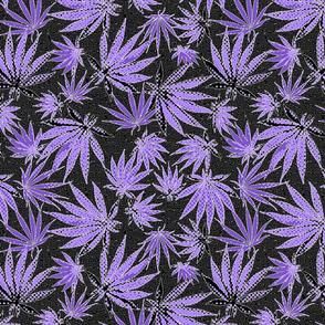 MJ Leaf Purple Dots