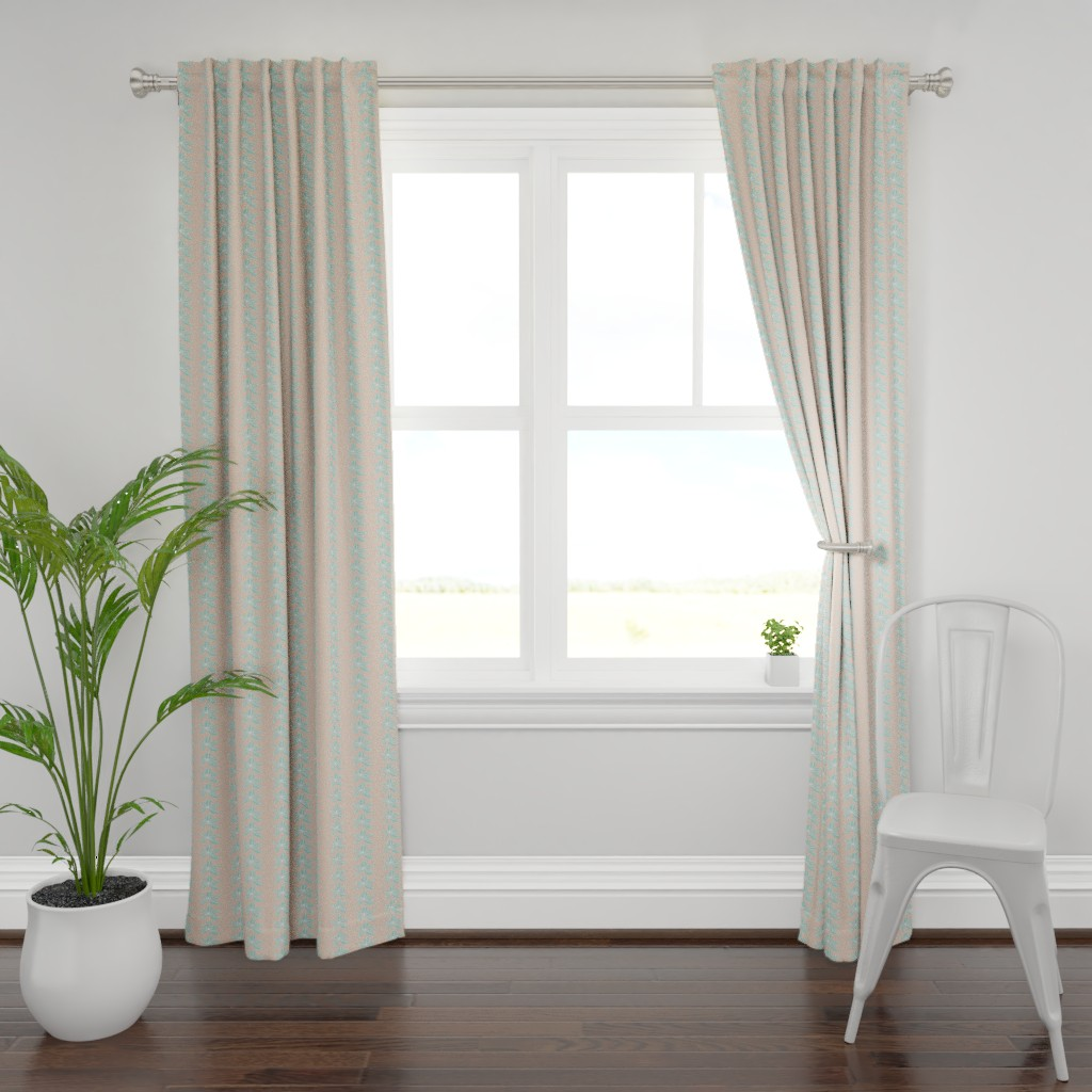 Plymouth Curtain Panel featuring Delicate One by studiojulieann