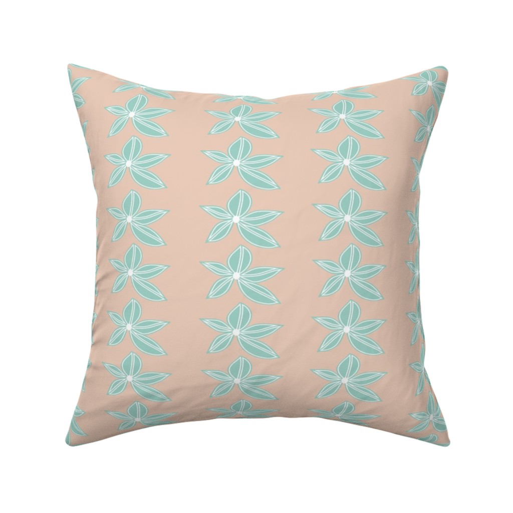 Catalan Throw Pillow featuring Delicate One by studiojulieann