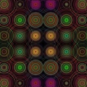 concentric black